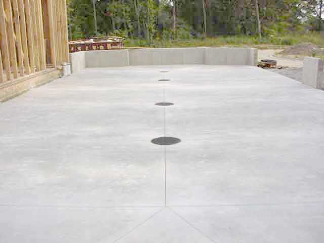 Residential Trench Drains, Garage Floor drains, Catch Basins